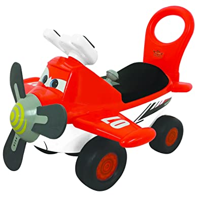 Kiddieland Disney Planes Fire and Rescue Dusty Activity Ride On: Toys & Games
