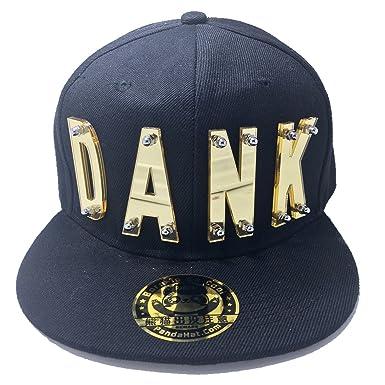 34c66f5048a Amazon.com  DANK HAT IN BLACK  Clothing