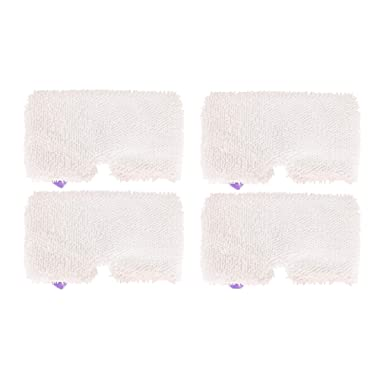 4 Pack Steam Mop Pads Machine Washable Microfiber Mop Cleaning Pads Replacement for Shark Steam Pocket Mops S3500 Series S3501 S3601 S3550 S3901 S3801 SE450 S3801CO S3601D
