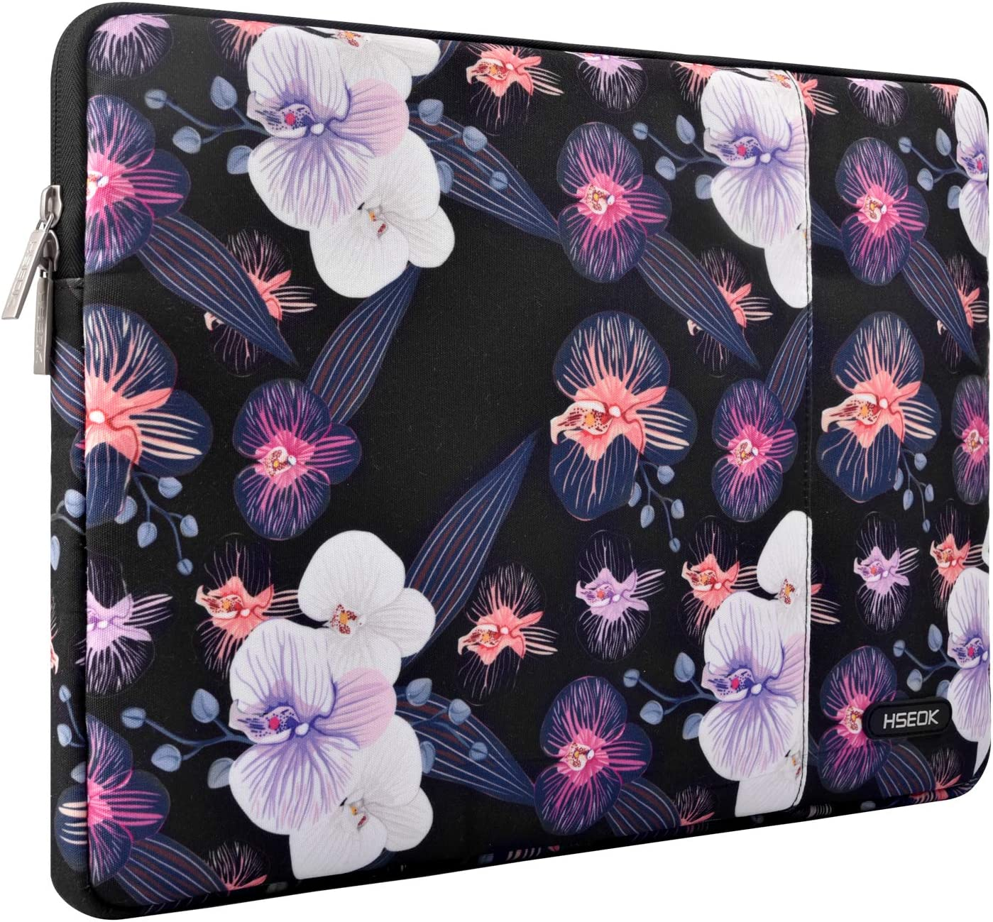 Hseok 15.6-Inch Laptop Case Sleeve, Spill-Resistant Case for 15.4-Inch MacBook Pro 2012 A1286, MacBook Pro Retina 2012-2015 A1398 and Most 15.6-Inch Laptop,Jellyfish Flower