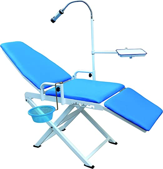 Amazon.com: Zeta silla Dental portátil con LED Spotlight ...