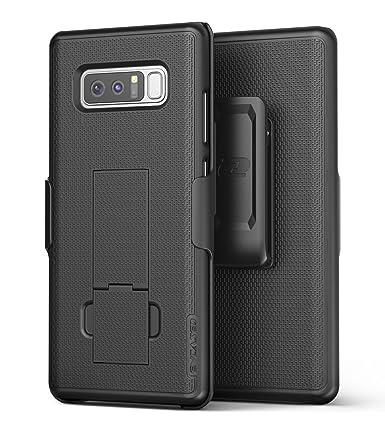 samsung note 8 case. samsung galaxy note 8 belt holster, encased thin fit [duraclip series] slim grip case