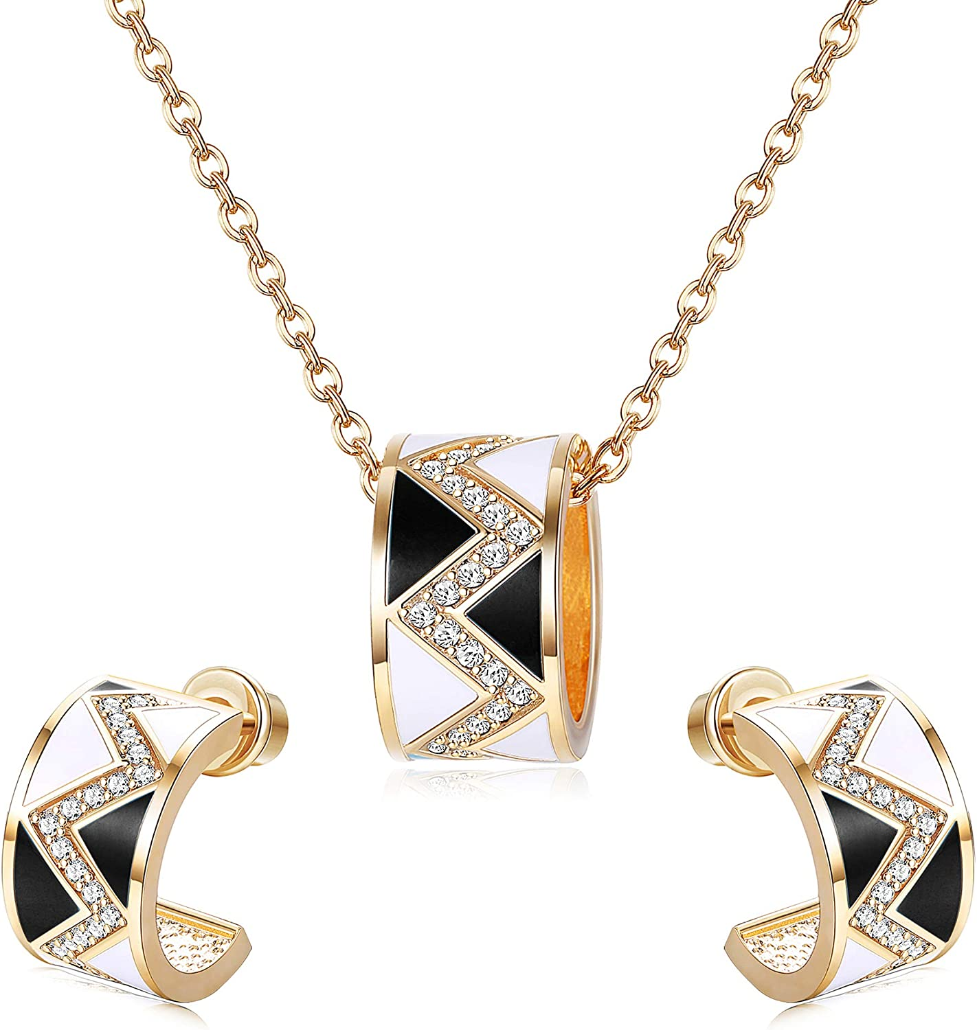Sllaiss 18K Gold Plated...