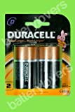 Duraacell D2 Alkaline Battery (Black)