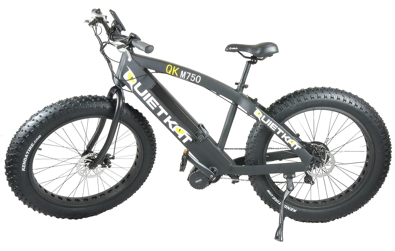 Quietkat Fatkat 750 W Electric Fat Tire Mountain Bike