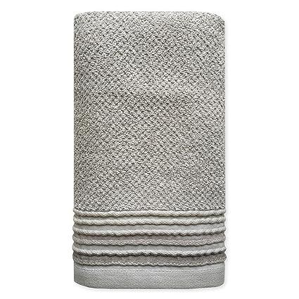 Dena Modern Solid Hand Towel, Grey
