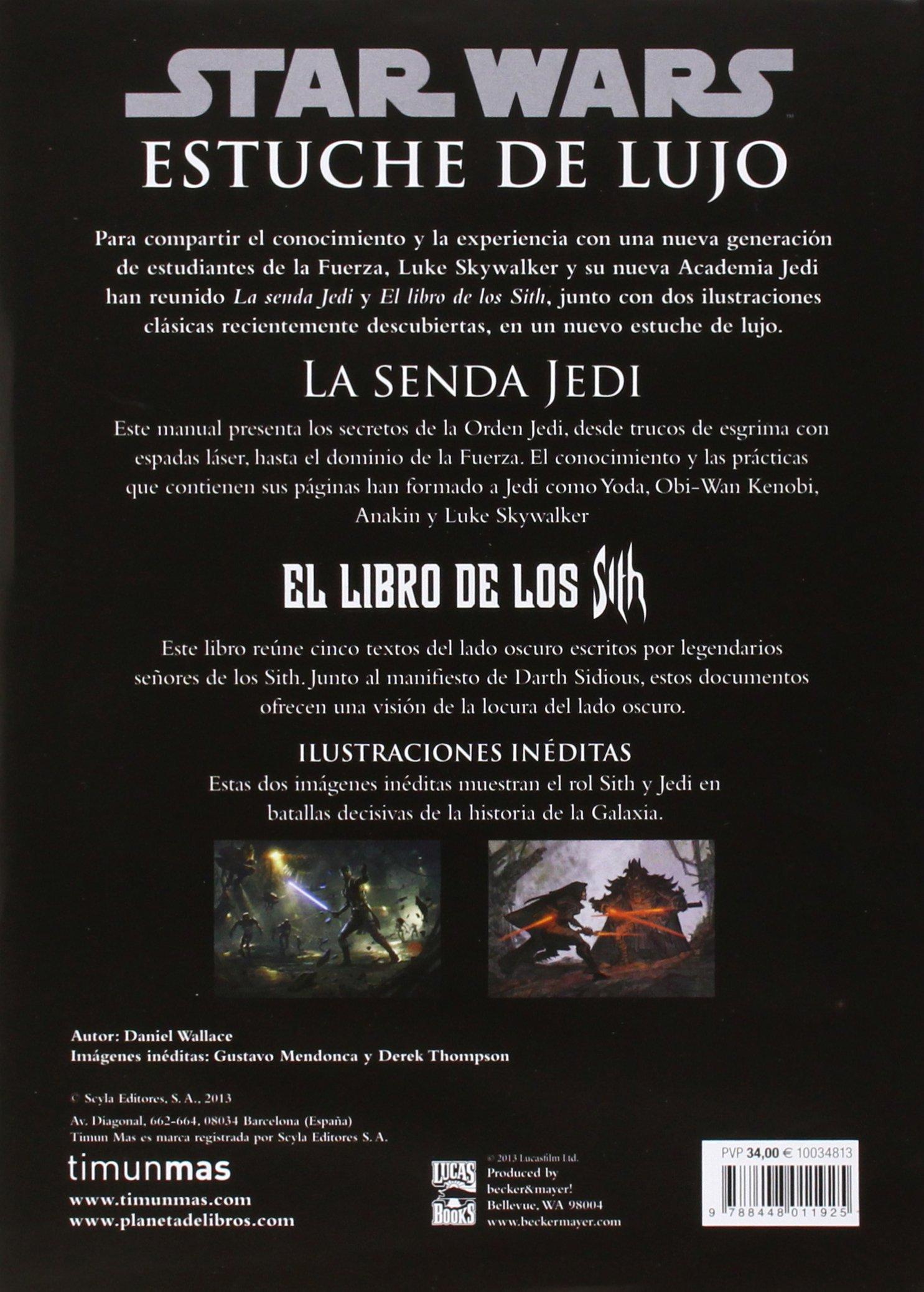 STAR WARS: Estuche de lujo Star Wars: La senda Jedi. El libro de los Sith  SW Ilustrados: Amazon.es: AA. VV., Traducciones Imposibles S. L.: Libros
