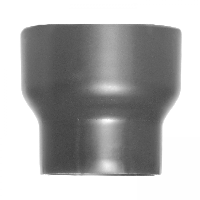 raik SH013-017-gg Rauchrohr / Ofenrohr Erweiterung 120mm - 150mm gussgrau