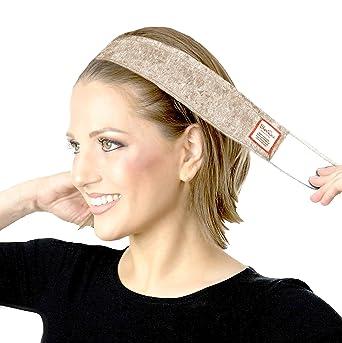836792e7f97 ShariRose Non-Slip Head-Band Wig Grip Adjustable Headband for Under  headscarves (Black Velvet) at Amazon Women s Clothing store