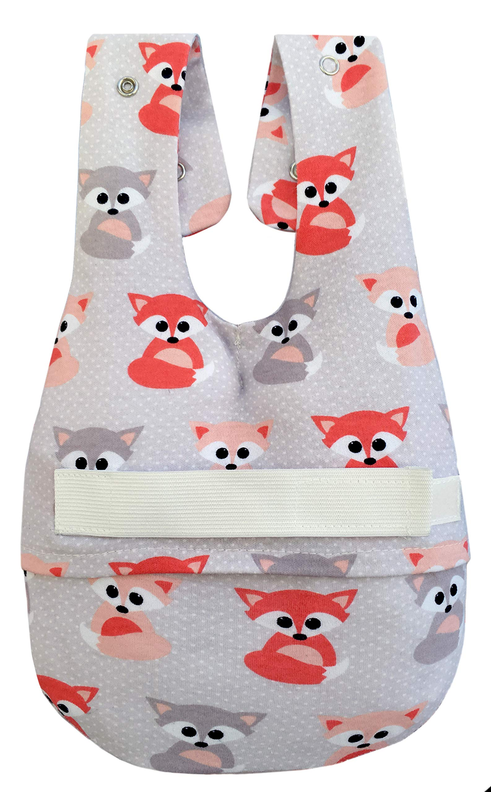 Baby Bottle Holder - The Willow Pillow- Original Size - Baby Foxes by Willow Pillow