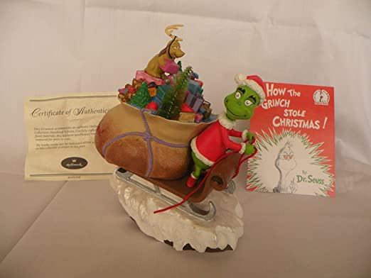 GRINCH Towel Hand SteaLing Ornament GRINCH for Kitchen Bath or Grinchmas Gift!
