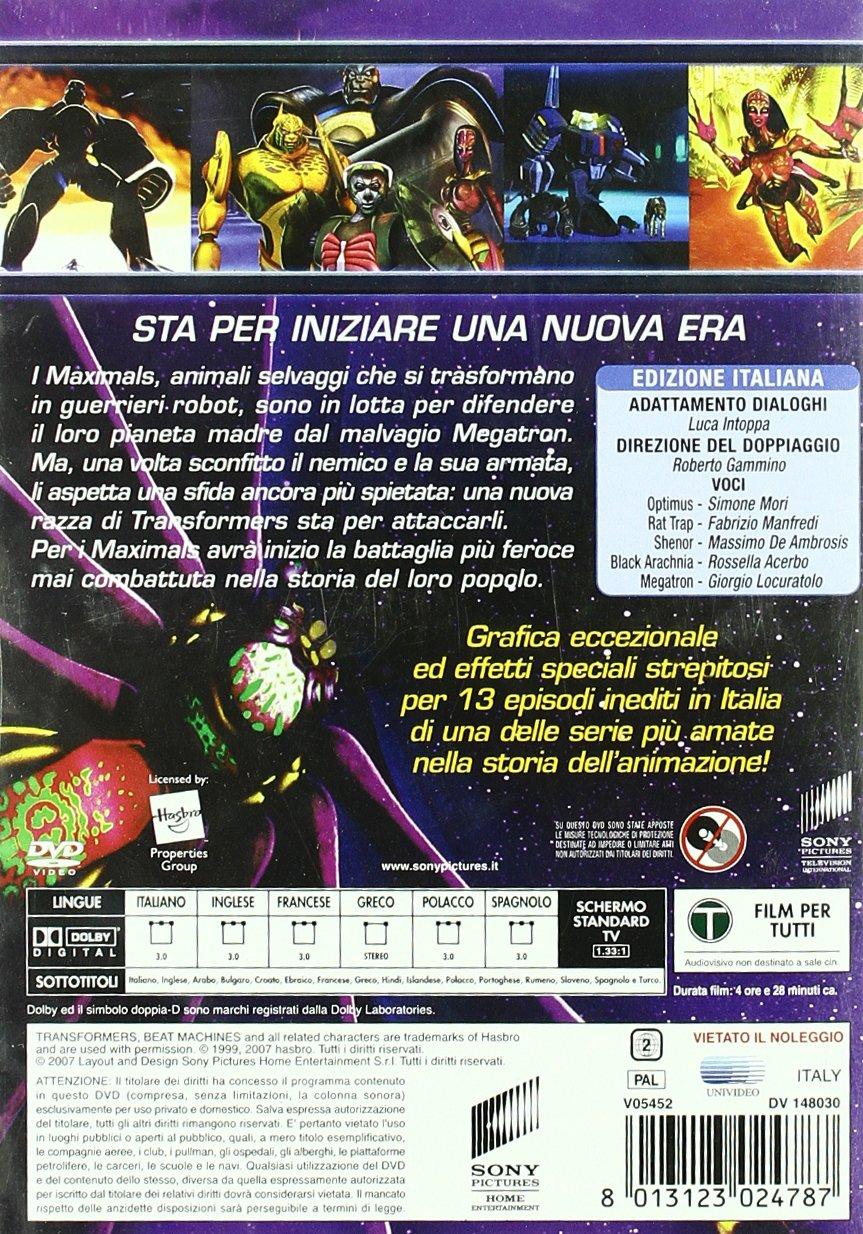Amazon.com: Transformers - Beast Machines - Stagione 01 (2 ...