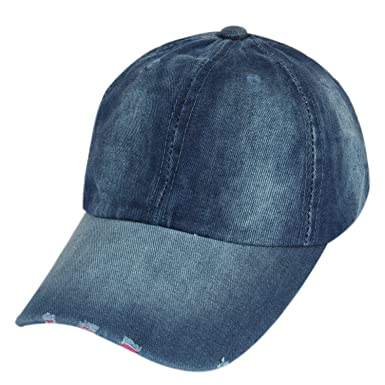 ILU Denim Unisex Baseball Cap Freesize  Amazon.in  Clothing   Accessories c9a5b8f832d7
