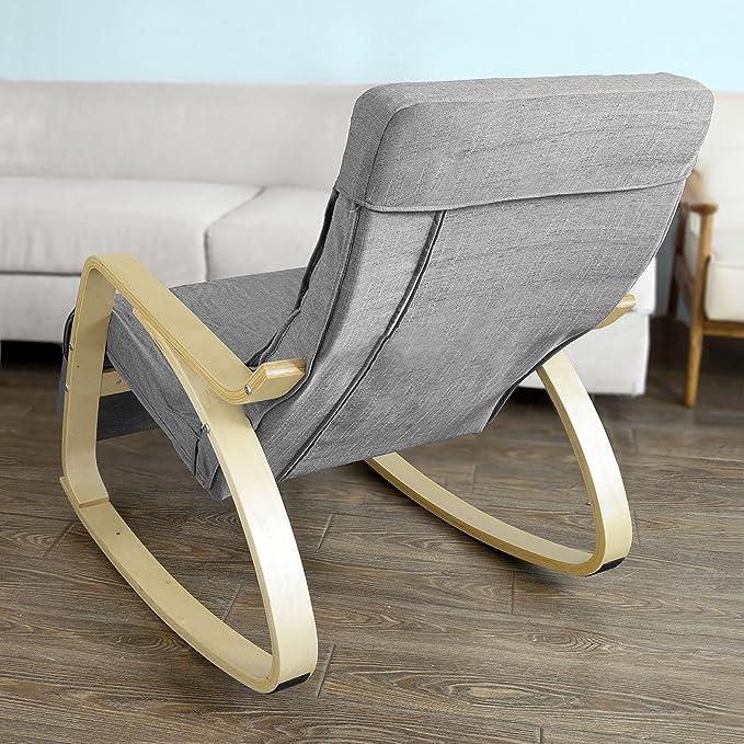 Couverture de Fauteuil Rocking Chair SoBuy FST18-B02 Housse de Fauteuil à Bascule Brun SoBuy®