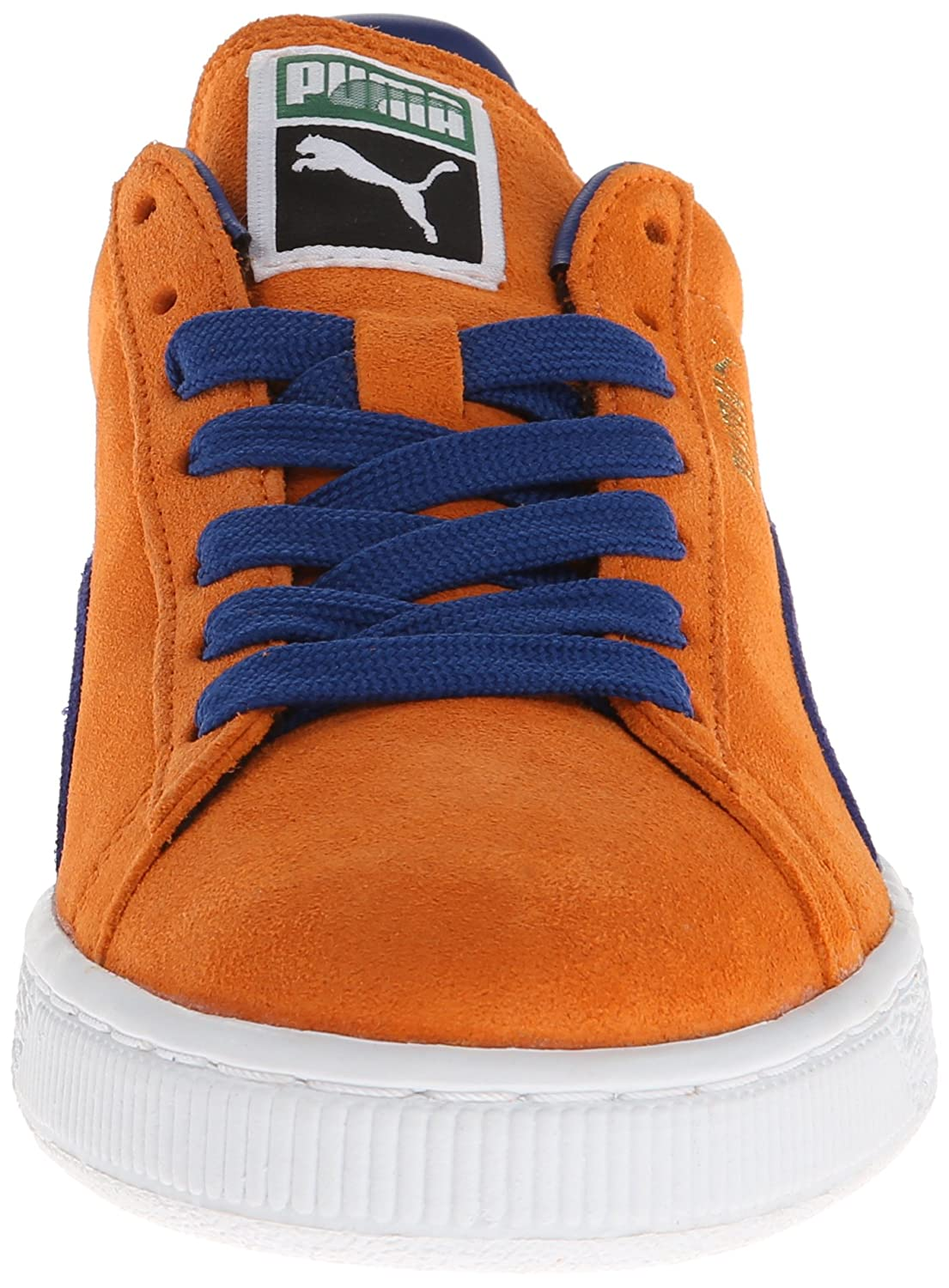 PUMA Adult Suede Classic Shoe B00GV4HDAY 10 M US|Russet Orange/Limoges