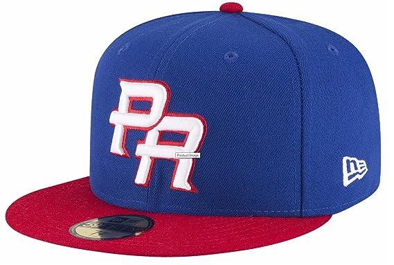 22922350e2310 ... usa peligrosports world baseball classic 2017 puerto rico new era  59fifty authentic hat mlb 6 7