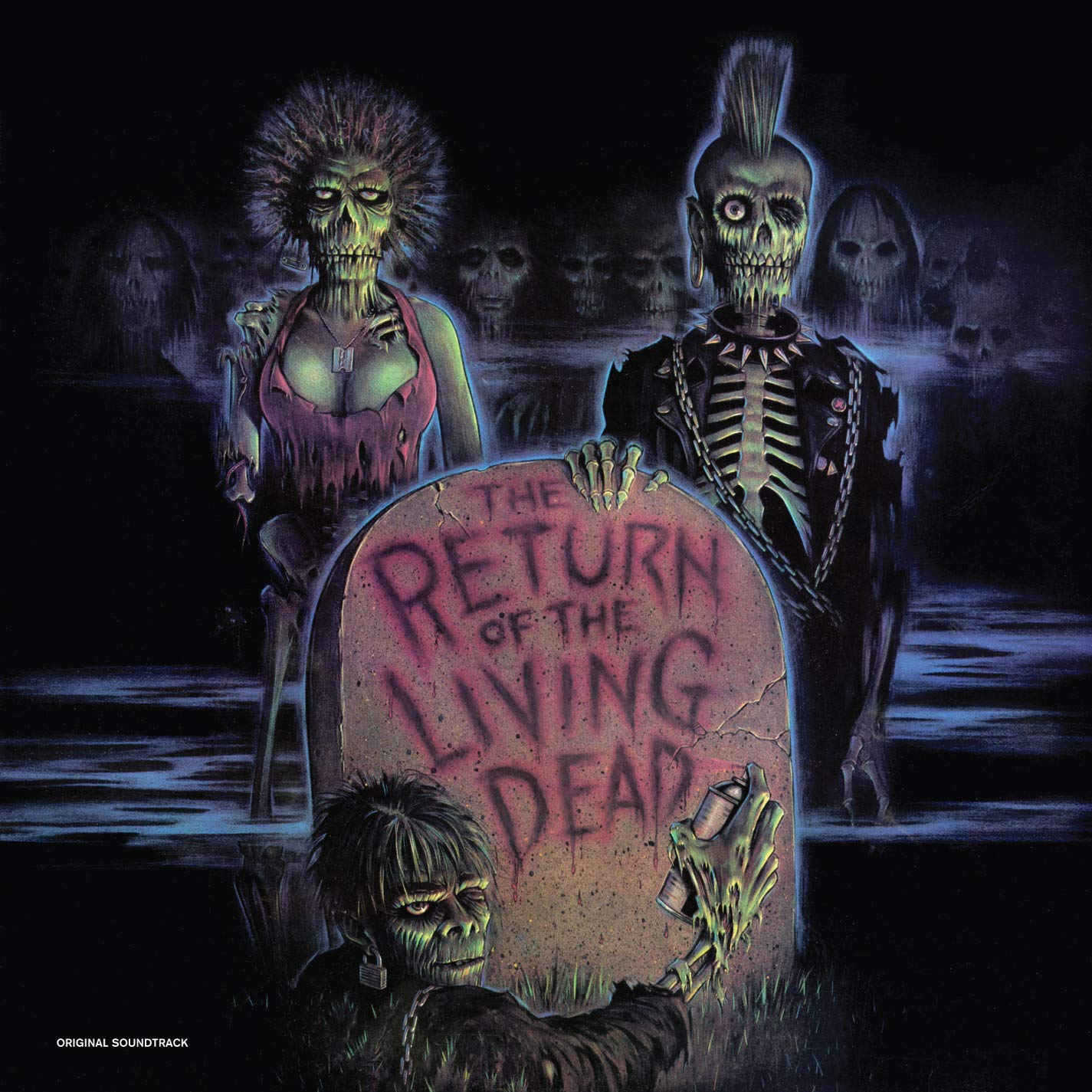 Vinilo : VARIOUS ARTISTS - Return Of The Living Dead (Limited Edition, Colored Vinyl)