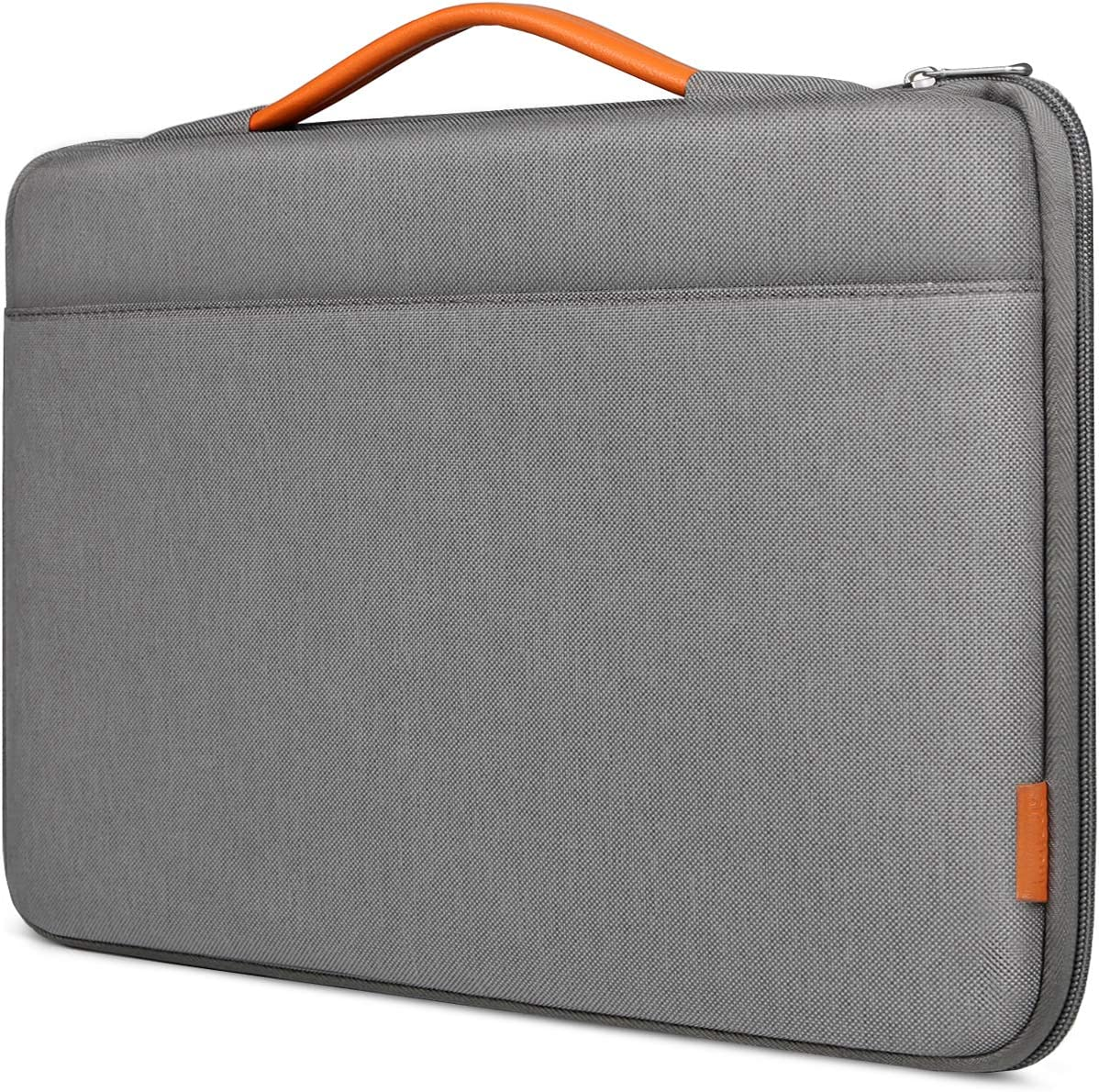 Inateck 15-15.6 Inch Shockproof Laptop Sleeve Carrying Case Chromebook Notebook Ultrabook Briefcase, Netbook Bag with Handle - Gray