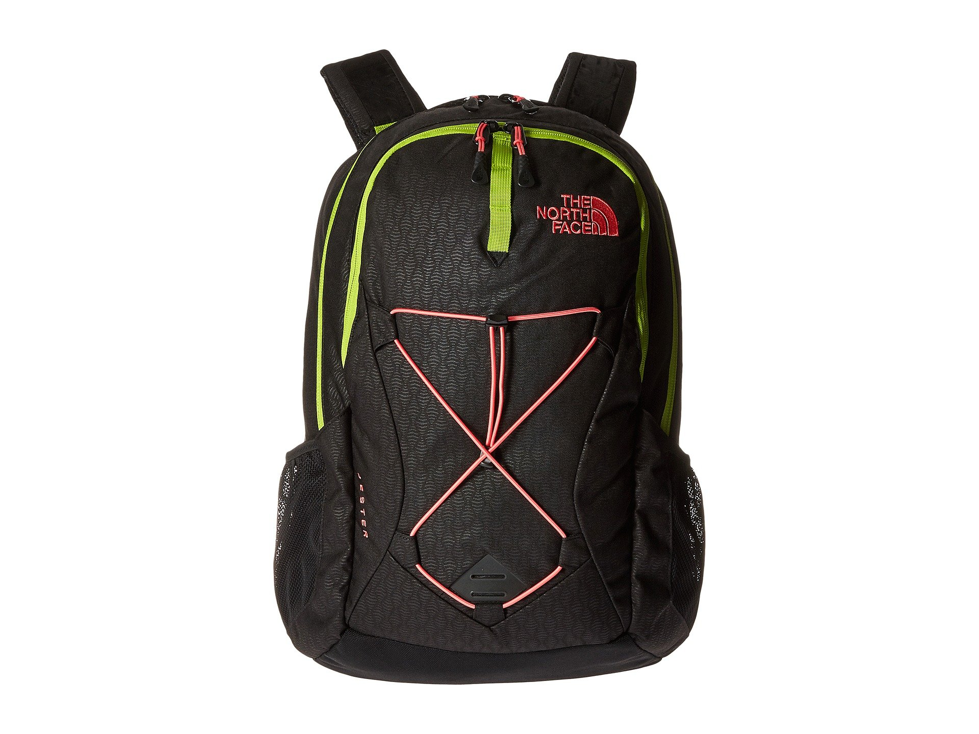 The North Face W Jester Tnf Black Emboss/Calypso Coral Womens Daypack by The North Face