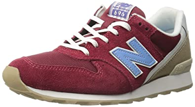 New Balance Women's WL696 Lakehouse Pack Running Shoe, Red/Blue, ...