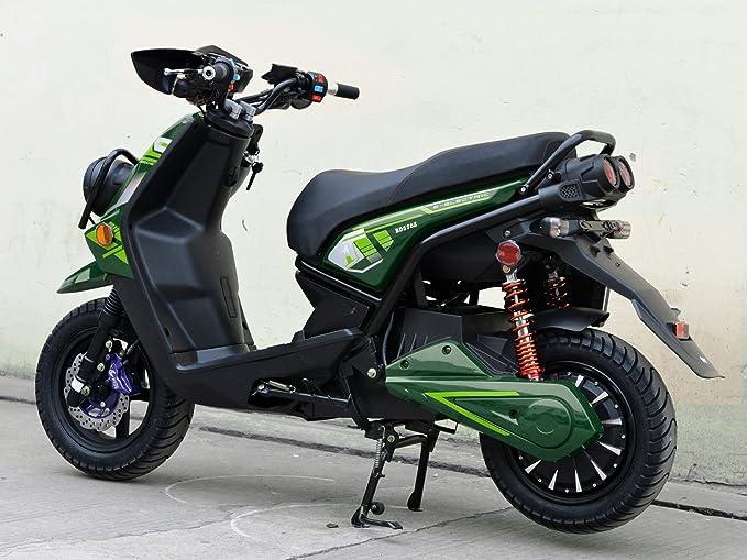Amazon.com: BOOM 2000 W 72 V eléctrico ciclomotor scooter ...