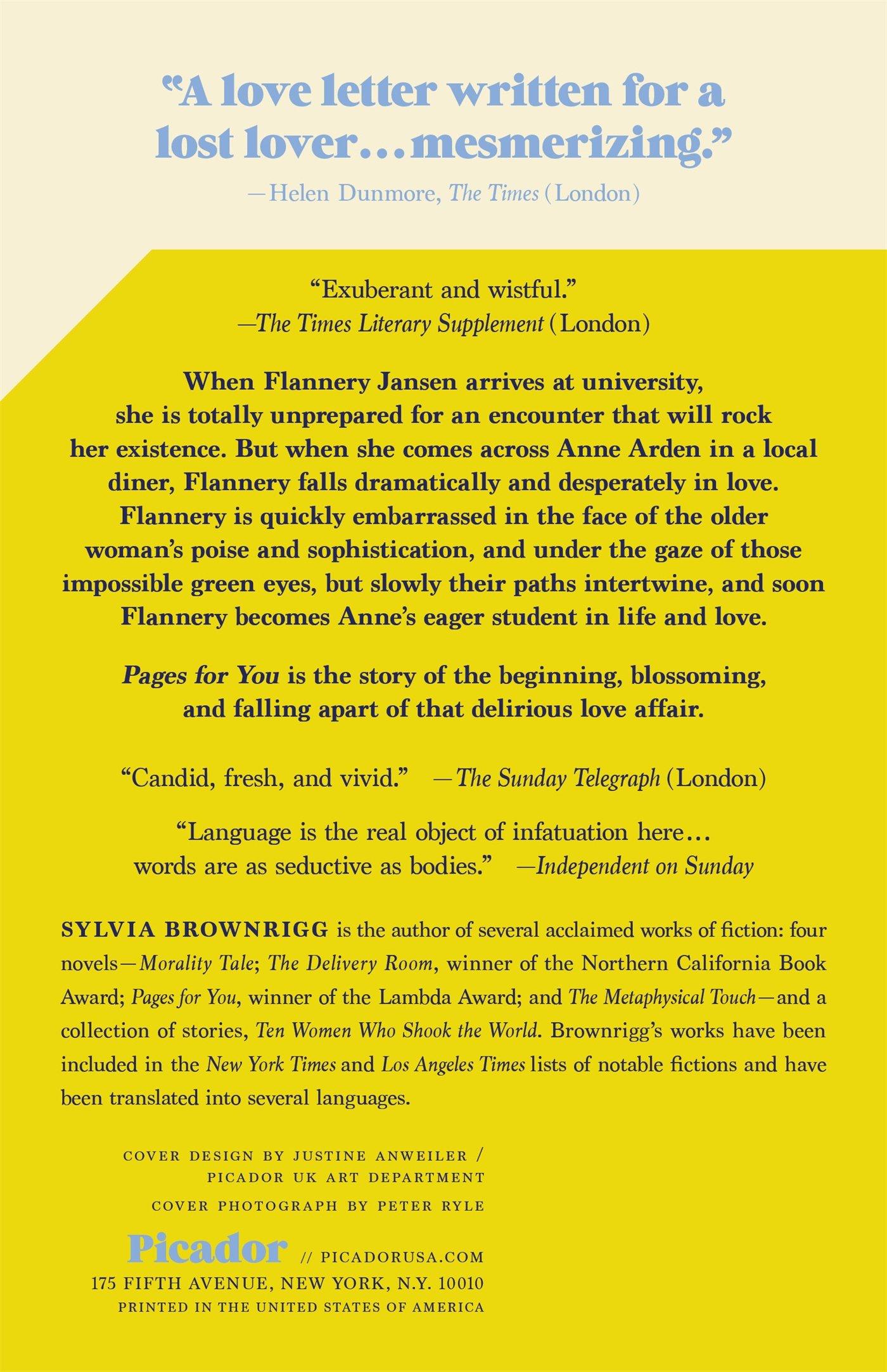 pages for you brownrigg sylvia