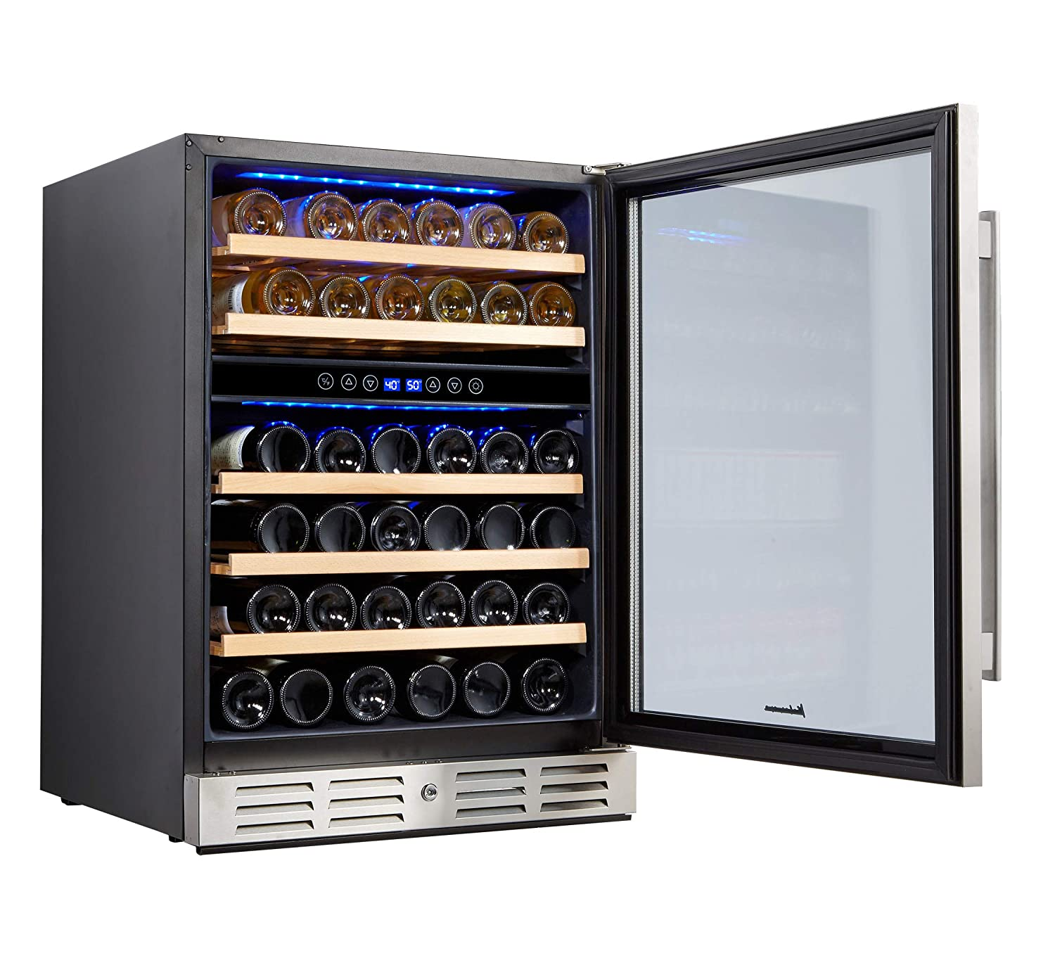 Kalamera 24'' Wine refrigerator 46 Bottle Review