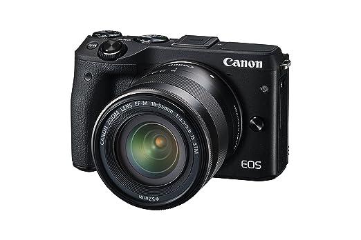 39 opinioni per Canon EOS M3 Kit Fotocamera Mirrorless da 24 Megapixel con Obiettivo EF-M 18-55
