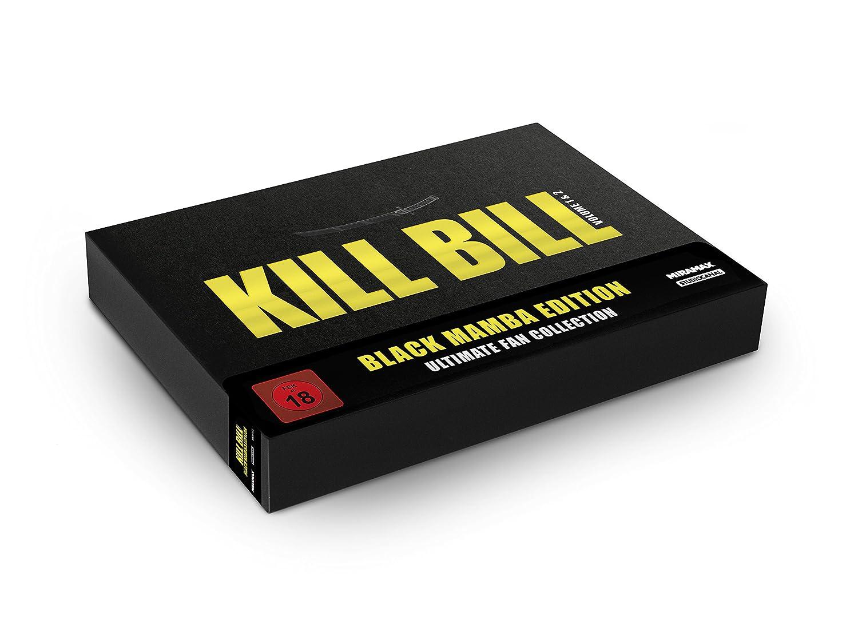 Kill Bill: Volume 1 & 2 - Black Mamba Edition - Ultimate Fan Collection [Italia] [Blu-ray]