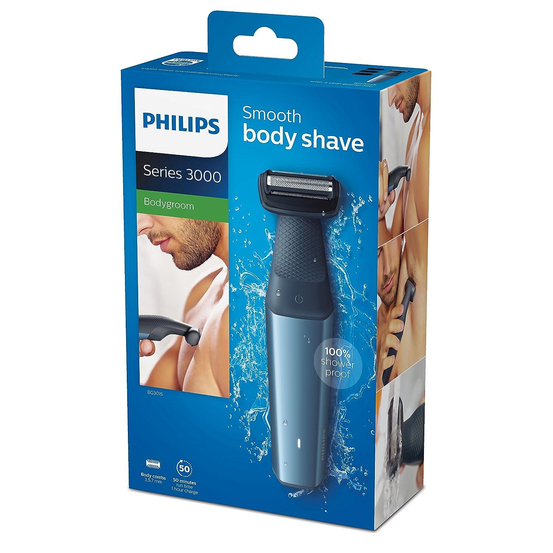 תוספת מכונת גילוח לגוף - PHILIPS 3000 - עם מאות ביקורות טובות באמזון- כ-181 NS-48