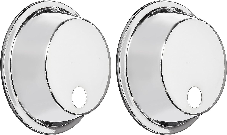 Left Chrome URO Parts 51139813823 Headlight Trim Ring