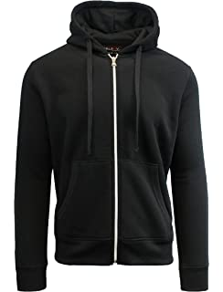 76cce8fa Amazon.com: Galaxy by Harvic Men's Sherpa Lined Hoodie: Clothing