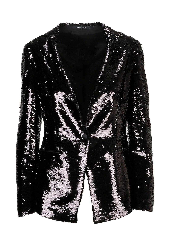 Tagliatore Women's JGILDAN1099 Black Polyester Blazer