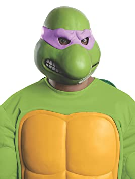 Máscara de Donatello Tortugas Ninja para adulto: Amazon.es ...