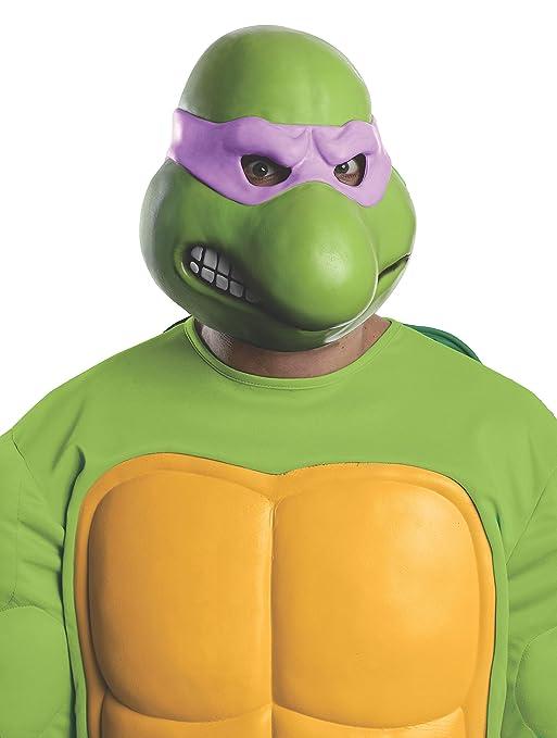 Máscara de Donatello Tortugas Ninja para adulto: Amazon.es ...