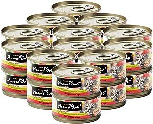Fussie Cat Premium Tuna Formula Grain-Free Wet Cat Food, 2.82-oz, case of 24
