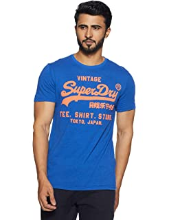 543b1d05 Superdry Men's Riders Heritage Classics T-Shirt Large New Yellow ...
