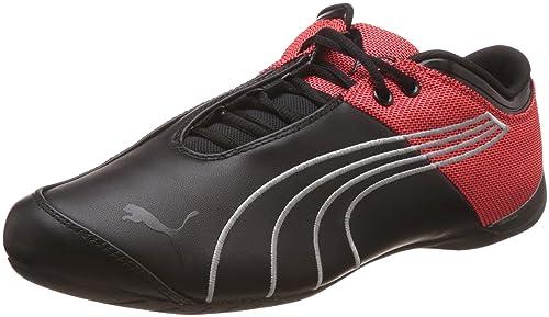 Puma Men's Future Cat M1 Core Low-Top Sneakers Black Size: 6