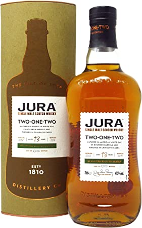 Jura - Two One Two - Limited Edition Series #1-13 year old Whisky