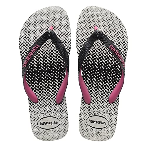 bc9f19e571acd Havaianas Top Optical Zig Zag Black Pink Orchid Flip Flop 37 38  Amazon.ca   Shoes   Handbags