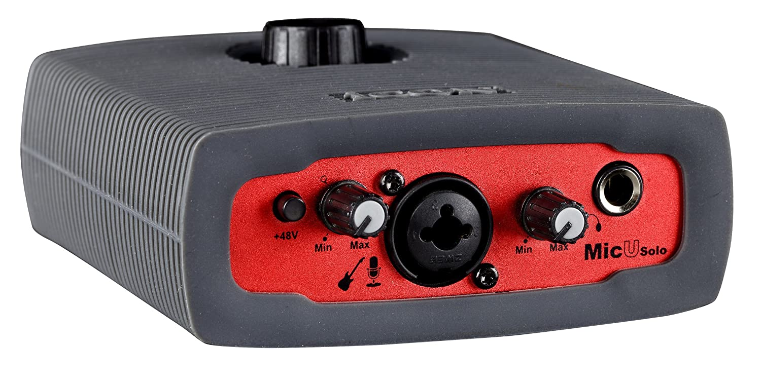 Icon MicU Solo-24/192 1/2 Audio Interface Incl Cubase LE ICOA-MICUSOLO