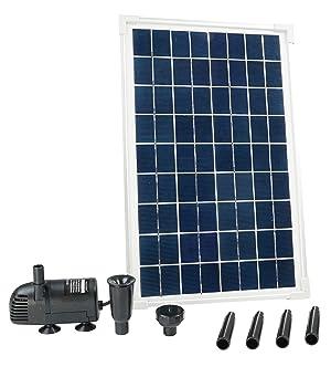 Ubbink Bomba Solarmax, con Panel Solar Incluido, 600 L, 1351181