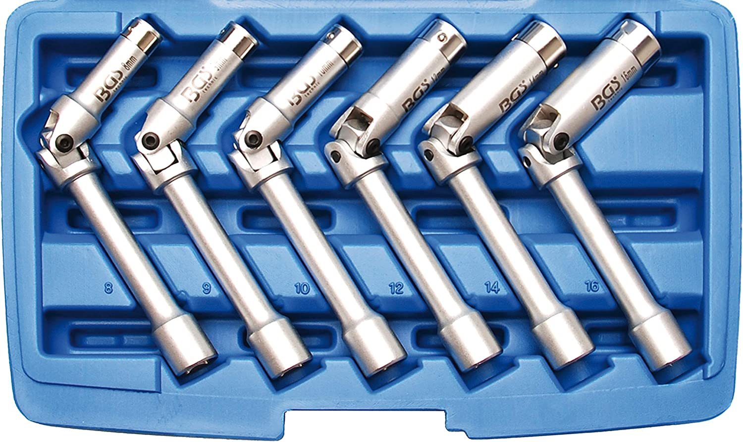 "Sunex Tools 3351 51 Piece 3//8/"" Drive Metric Master Impact Socket Set New!"