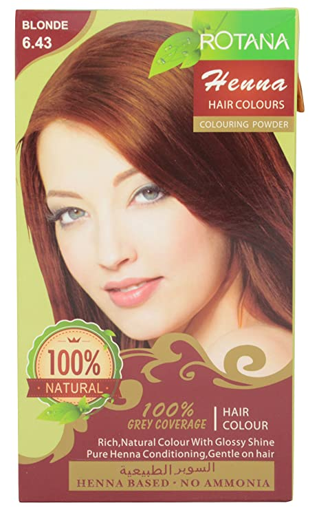 Buy Rotana Henna Based No Ammonia Hair Color Blonde Online At Low