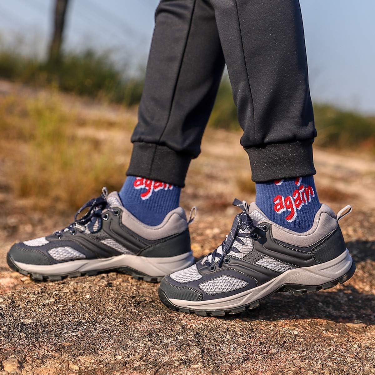 CAMEL CROWN Damen Wanderschuhe Atmungsaktiv Anti-Rutsch-Sohle Trekking-/& Wanderstiefel Leichte Damenschuhe Outdoor Sneaker Walkingschuhe Outdoorschuhe Laufschuhe Schwarz Rosa 37.5-42.5