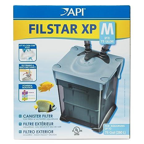 API FILSTAR XP Filter tamaño M Acuario Filtro Canister, 3 Paquetes de Caja