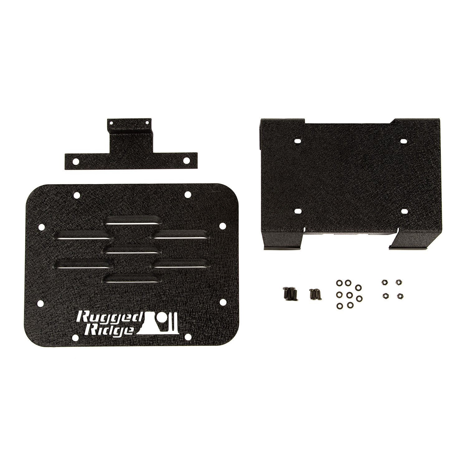Rugged Ridge 11586.11 Tire Carrier Delete Kit for 2007-2018 Jeep Wrangler JK