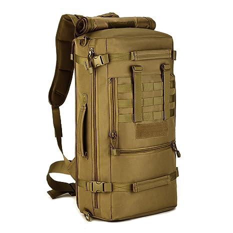 81c64e81b9b274 Cinmaul tattico militare molle sistema zaino Assault Pack 3Way Modular  attacchi 50L grande impermeabile