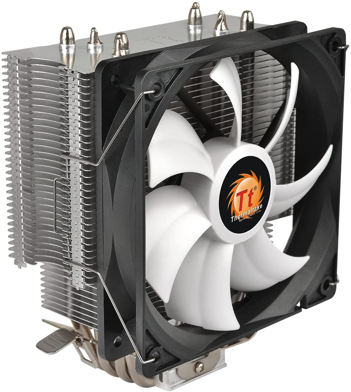 Thermaltake Contac Silent 12 150W INTEL/AMD with AM4 Support 120mm PWM CPU Cooler CL-P039-AL12BL-A
