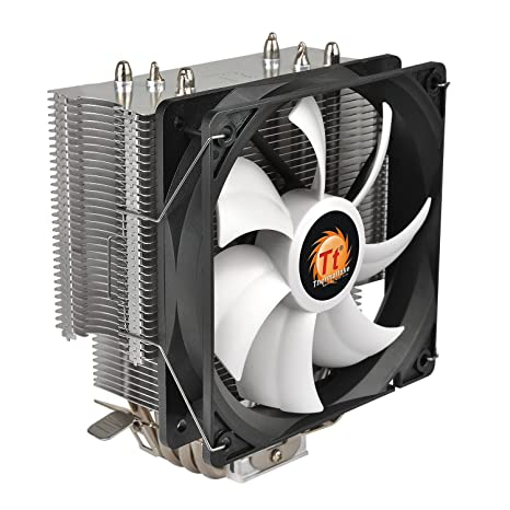 Thermaltake CL-P039-AL12BL-A Contac Silent 150W INTEL AMD with AM4 Support 120mm PWM CPU Cooler Fans & Cooling at amazon